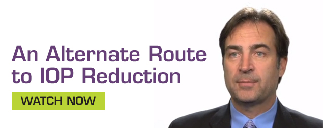 An Alternative Route to IOP Reduction