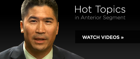 Hot Topics in Anterior Segment